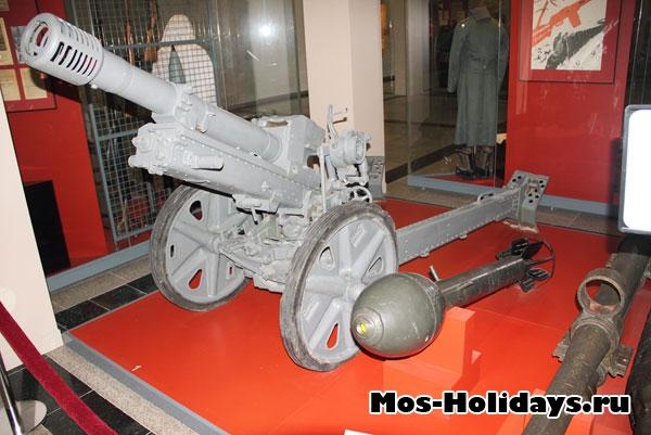 Артиллерийские орудия времен Великой Отечественной Войны