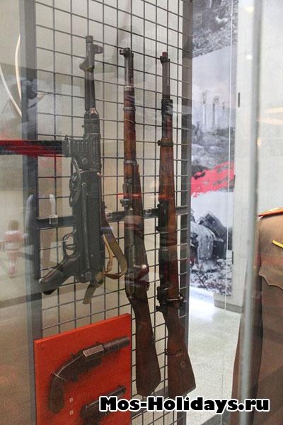 Стрелковое оружие времен Великой Отечественной Войны