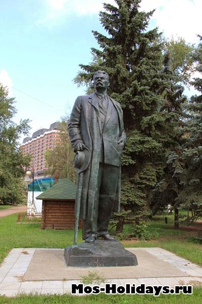 Максим Горький, парк Музеон
