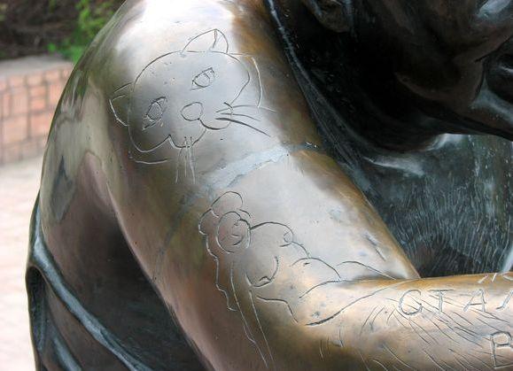 Памятник Доценту татуировки