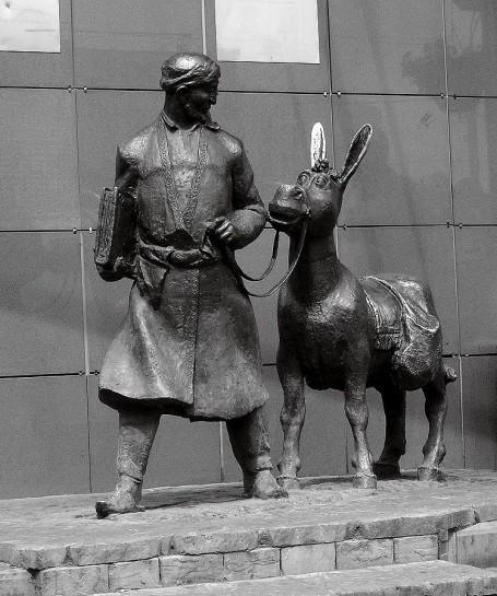 Памятник Ходже Насреддину