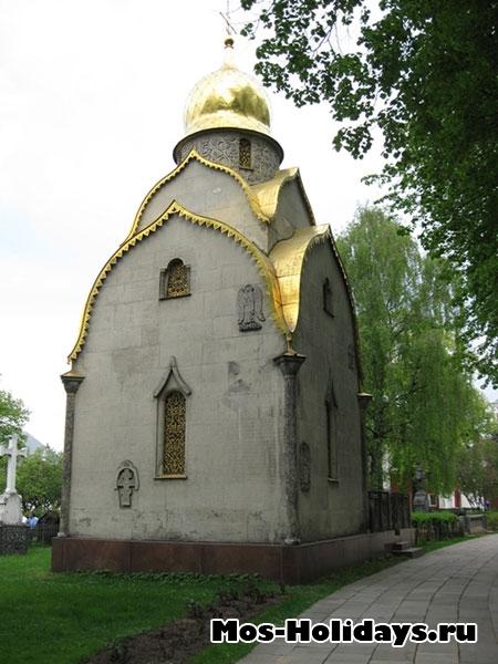 Склеп в Новодевичьем монастыре
