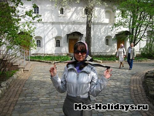На территории Новоспасского монастыря