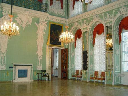 строгановский дворец интерьер фото