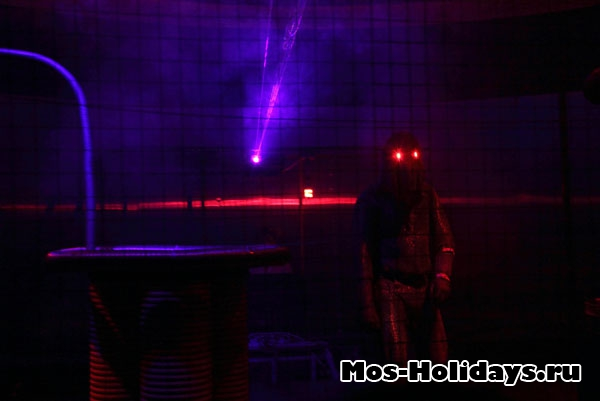 Шоу Мегавольт-повелитель молний на ВВЦ