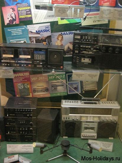 Кассетные магнитофоны в Политехническом музее Москвы