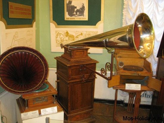 Граммофон в Политехническом музее Москвы