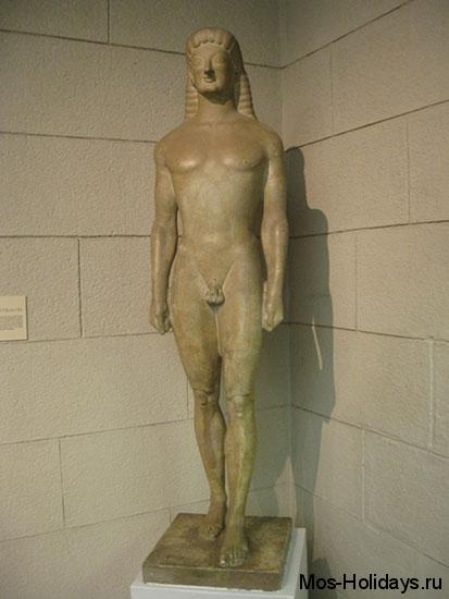 Египетский мальчик из Пушкинского музея