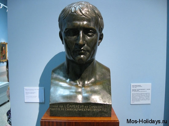 Бюст Наполеона Бонапарта из Пушкинского музея