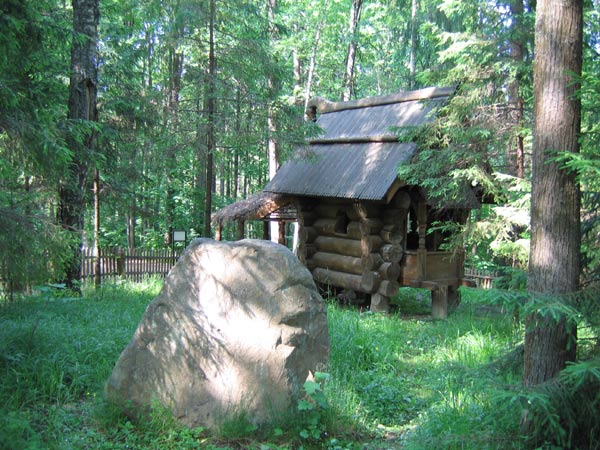 Фасад домы в Абрамцево