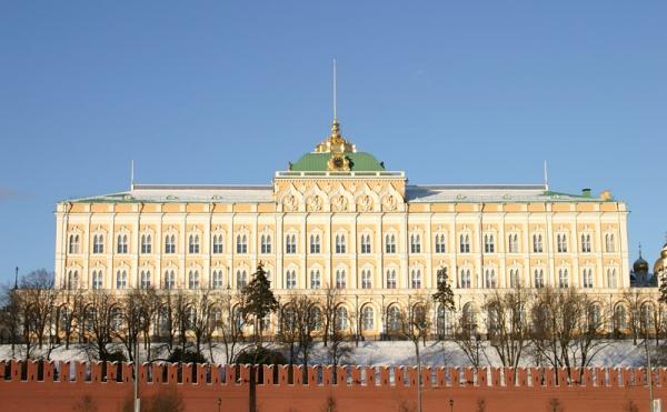 Фасад Большого кремлевского дворца