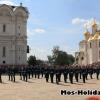 Развод караулов в Кремле на Соборной площади