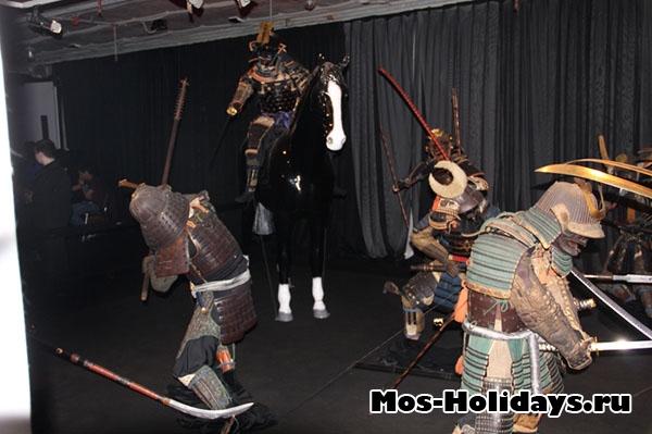 Выставка Самураи Art of War