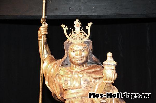 Бисямонтен - бог войны, выставка самураев в Москве