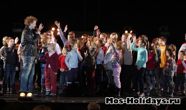 Дети на шоу братьев Сафроновых