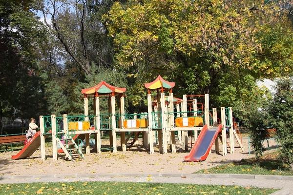 Детская площадка в Таганском парке
