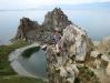Я на мысе Бурхан острова Ольхон озера Байкал