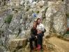 На скале Шаманке острова Ольхон озера Байкал