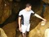 Пещера в скале Шаманке на мысе Бурхан острова Ольхон озера Байкал