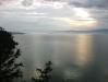 Вид на Малое море озера Байкал с мыса Бурхан острова Ольхон озера Байкал