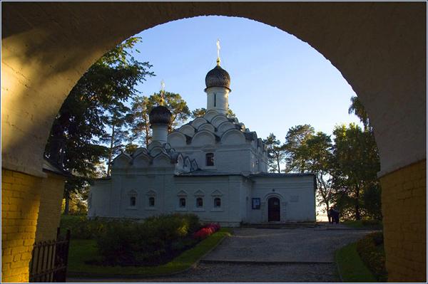 В усадьбе Архангельское