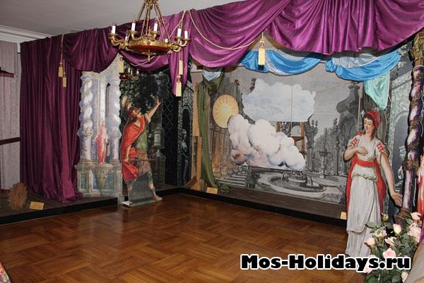 Комната, где показан театр Дурасова