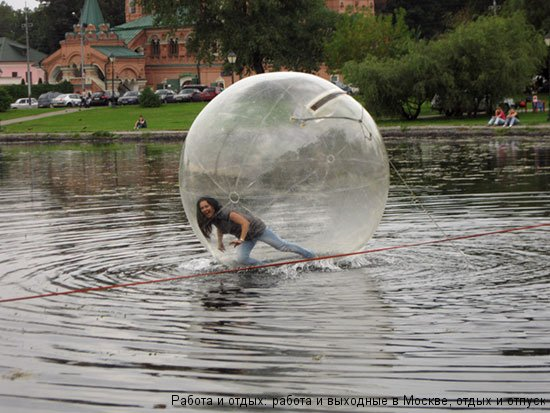 Развлечения на Останкинском пруду