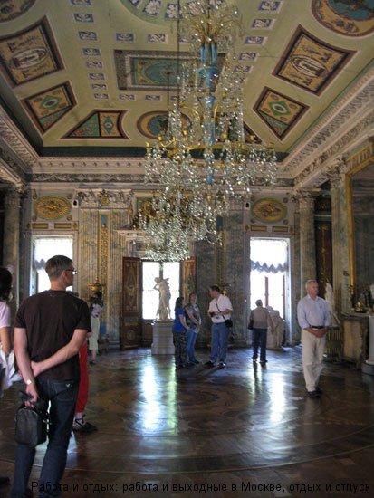 Итальянский павильон в Усадьбе Останкино
