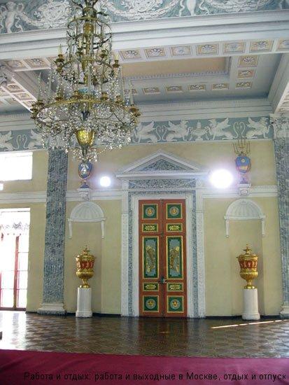 Египетский павильон в Усадьбе Останкино