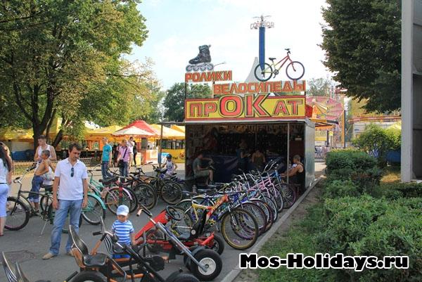 Прокат велосипедов на ВВЦ