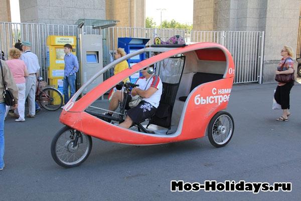 Велорикша на ВВЦ