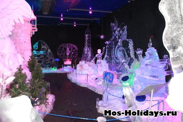 Фото из музея льда в Сокольниках