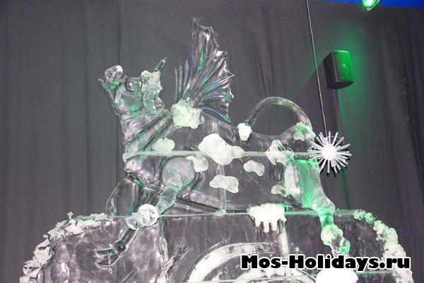 Летающая корова из мультфильма Тайны третьей планеты