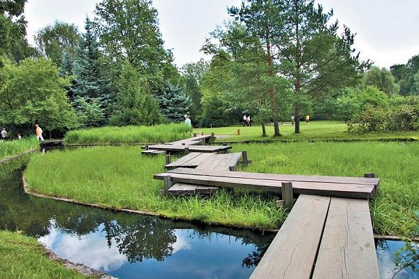 Сад будущего, Леоновский парк