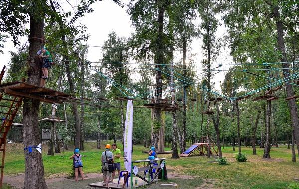 Для России веревочный парк