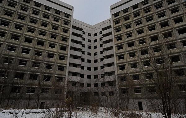 Заброшенная Ховринская больница