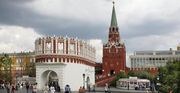 Троицкие ворота Кремля