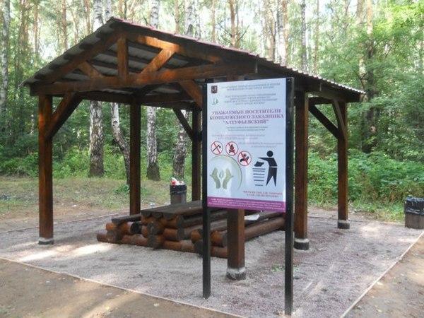 Битцевский парк пожарить шашлыки