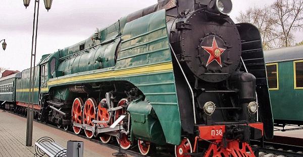 Музей железнодорожного транспорта на Рижской