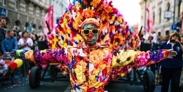 IV Международный семейный фестиваль уличного искусства и творчества «Яркие люди – 2015» в День Москвы