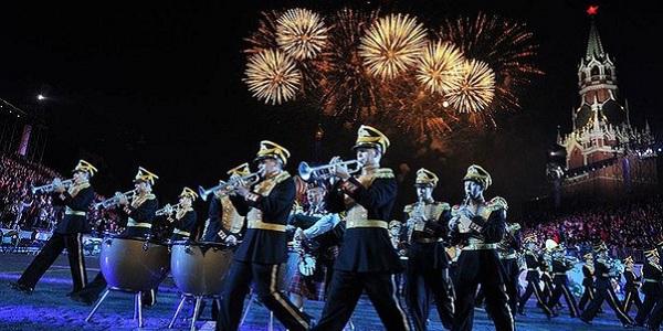 VIII Международный военно-музыкальный фестиваль «Спасская башня – 2015» на Красной площади