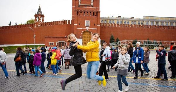 Детская автобусная экскурсия «Посвящение в москвичи»