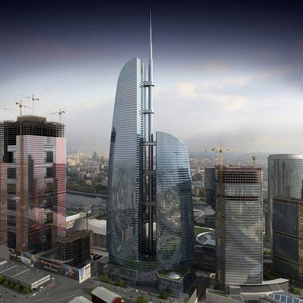 Башня Федерация в Москва-сити