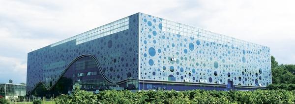 Здание Мосаквариума на ВДНХ