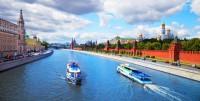 Речная прогулка по Москве-реке на теплоходе с ужином для двоих или компании до 10 человек от СК «Праздник на воде»