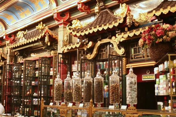 Чайный дом на мясницкой китайское здание перлов и
