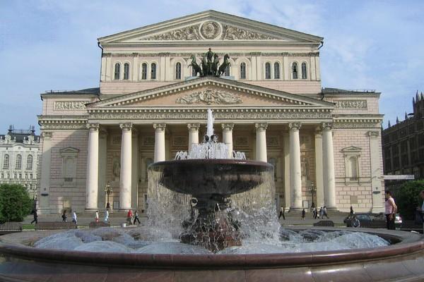 Фонтан у Большого театра