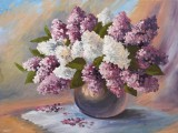 «Сирень» — мастер-класс по живописи маслом