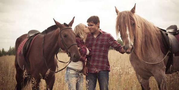 2 или 3 часа конной прогулки в лесу или поле, предоставление лошади для фотосессии от «Конного дворика Ашукино»