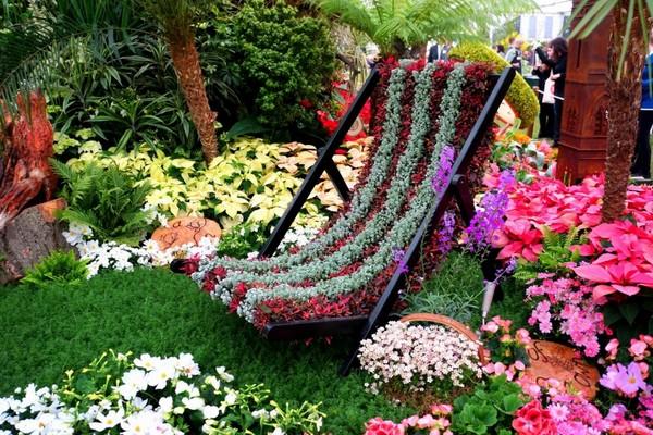Парк музеон выставка цветов 2017